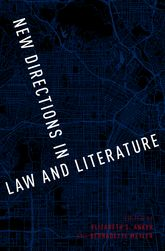 New Directions in Law and Literature$