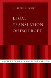 Legal Translation Outsourced - Oxford Scholarship Online