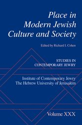 Place in Modern Jewish Culture and Society$