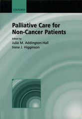 Palliative Care for Non-cancer Patients - Oxford Scholarship Online