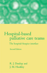 Hospital-based Palliative Care TeamsThe Hospital/Hospice Interface