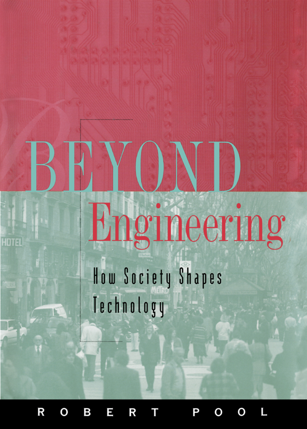 Beyond Engineering – How Society Shapes Technology - Oxford Scholarship Online