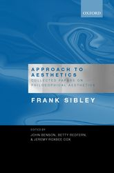 Approach to AestheticsCollected Papers on Philosophical Aesthetics