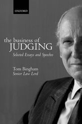 The Business of JudgingSelected Essays and Speeches