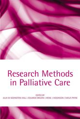 Research Methods in Palliative Care$