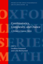 Combinatorics, Complexity, and Chance – A Tribute to Dominic Welsh - Oxford Scholarship Online