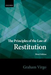 The Principles of the Law of Restitution - Oxford Scholarship Online