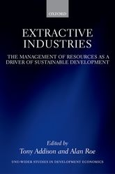 Extractive IndustriesThe Management of Resources as a Driver of Sustainable Development$