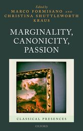 Marginality, Canonicity, Passion - Oxford Scholarship Online