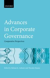 Advances in Corporate GovernanceComparative Perspectives$