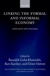 Linking the Formal and Informal EconomyConcepts and Policies$
