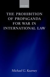 The Prohibition of Propaganda for War in International Law$