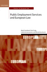 Public Employment Services and European Law - Oxford Scholarship Online