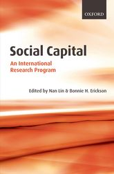 Social Capital – An International Research Program - Oxford Scholarship Online
