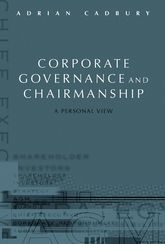 Corporate Governance and Chairmanship A Personal View$