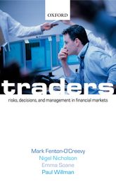 TradersRisks, Decisions, and Management in Financial Markets$