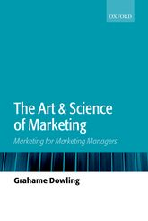 The Art and Science of Marketing – Marketing for Marketing Managers - Oxford Scholarship Online