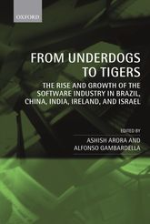 From Underdogs to TigersThe Rise and Growth of the Software Industry in Brazil, China, India, Ireland, and Israel$