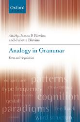 Analogy in Grammar – Form and Acquisition - Oxford Scholarship Online