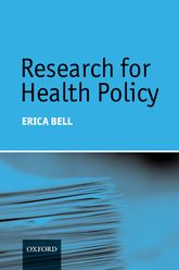Research for Health Policy - Oxford Scholarship Online