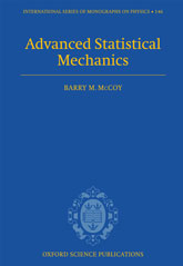 Advanced Statistical Mechanics$