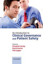 An Introduction to Clinical Governance and Patient Safety - Oxford Scholarship Online