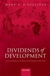 Dividends of DevelopmentSecurities Markets in the History of U.S. Capitalism, 1866-1922$