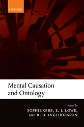 Mental Causation and Ontology - Oxford Scholarship Online
