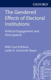 The Gendered Effects of Electoral Institutions – Political Engagement and Participation - Oxford Scholarship Online