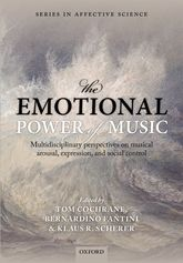 The Emotional Power of MusicMultidisciplinary perspectives on musical arousal, expression, and social control$