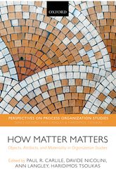 How Matter MattersObjects, Artifacts, and Materiality in Organization Studies$