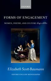 Forms of EngagementWomen, Poetry and Culture 1640-1680$
