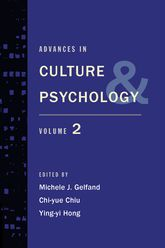 Advances in Culture and PsychologyVolume Two