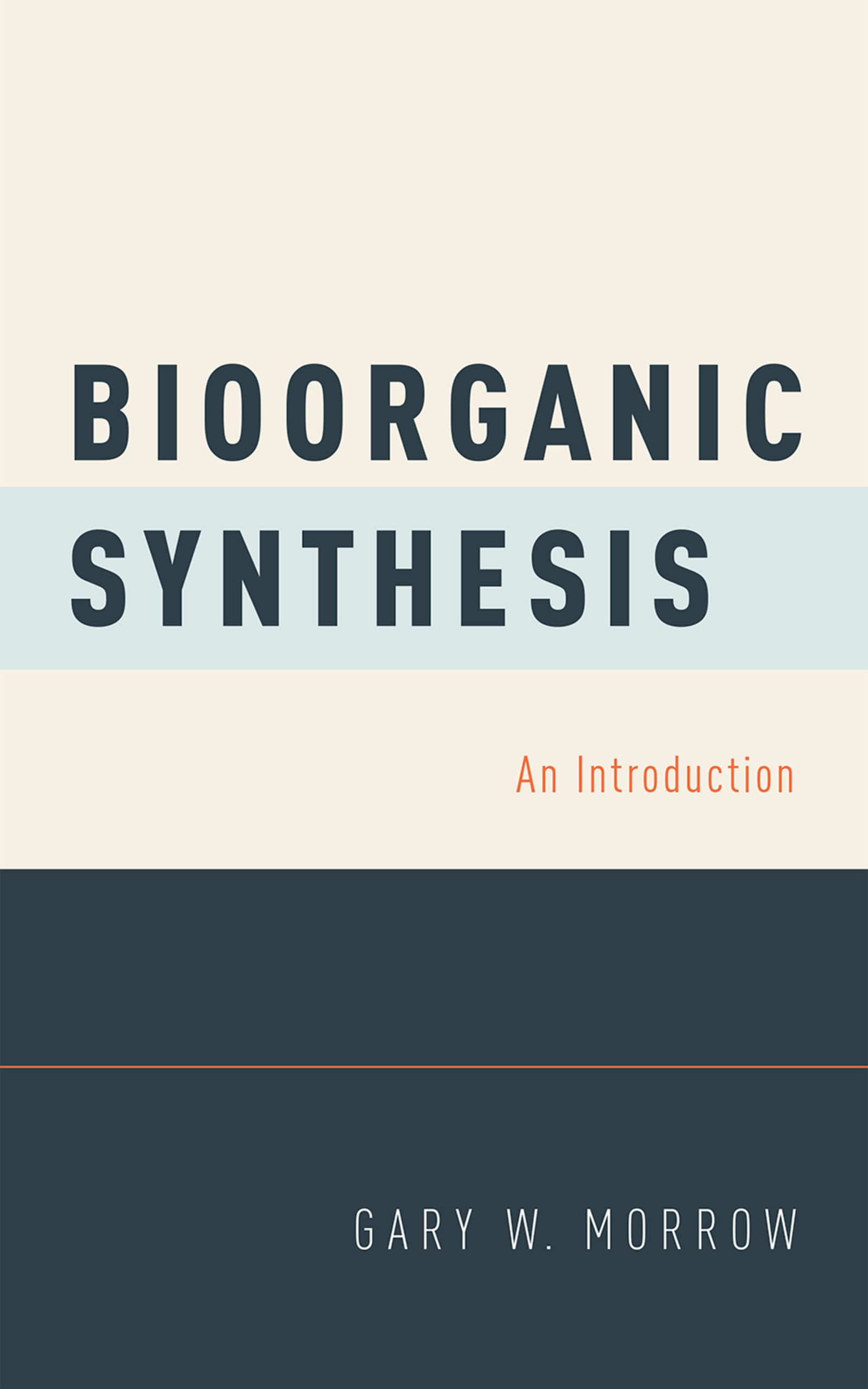 Bioorganic SynthesisAn Introduction$
