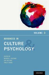 Advances in Culture and PsychologyVolume 3
